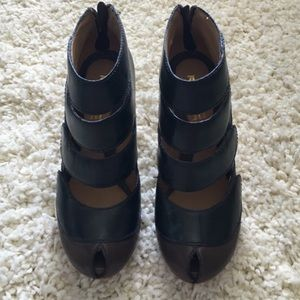 LAMB Black and Brown Heels